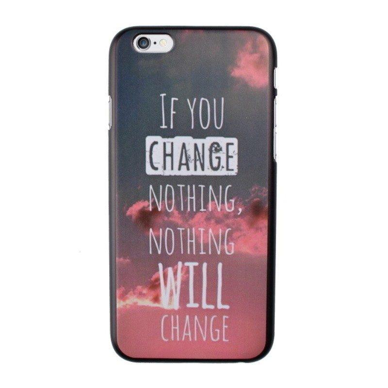 Plastový kryt pre iPhone 6/6S CHANGE