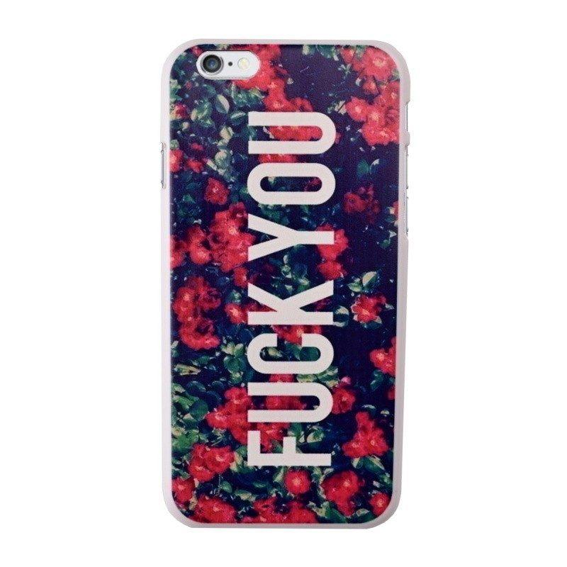 Plastový kryt pre iPhone 6/6S Roses
