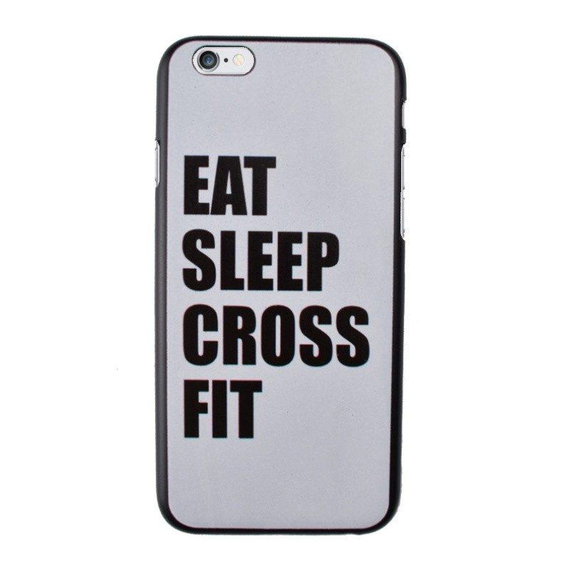 Plastový kryt pre iPhone 6/6S SLEEP CROSS FIT