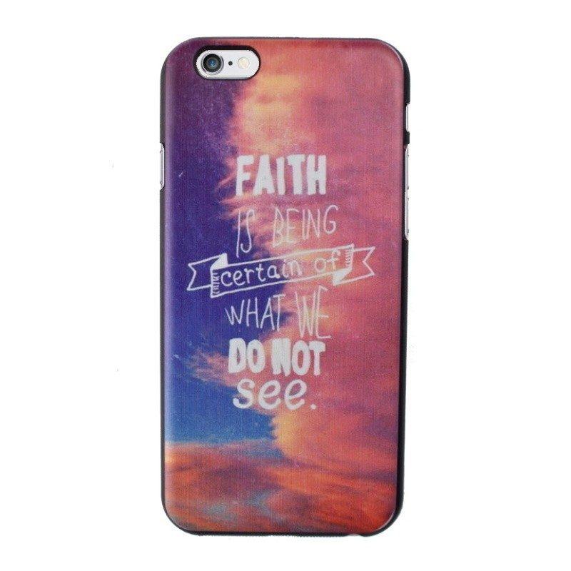 Plastový kryt pre iPhone 6/6S Faith