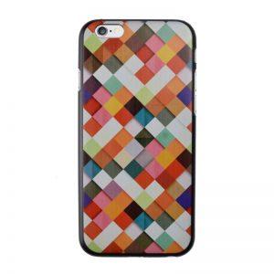 Plastový kryt pre iPhone 6/6S Orange Mosaic