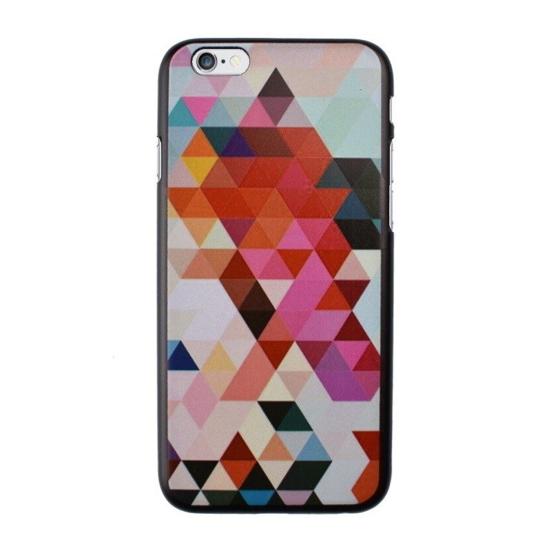 Plastový kryt pre iPhone 6/6S Pink Triangles