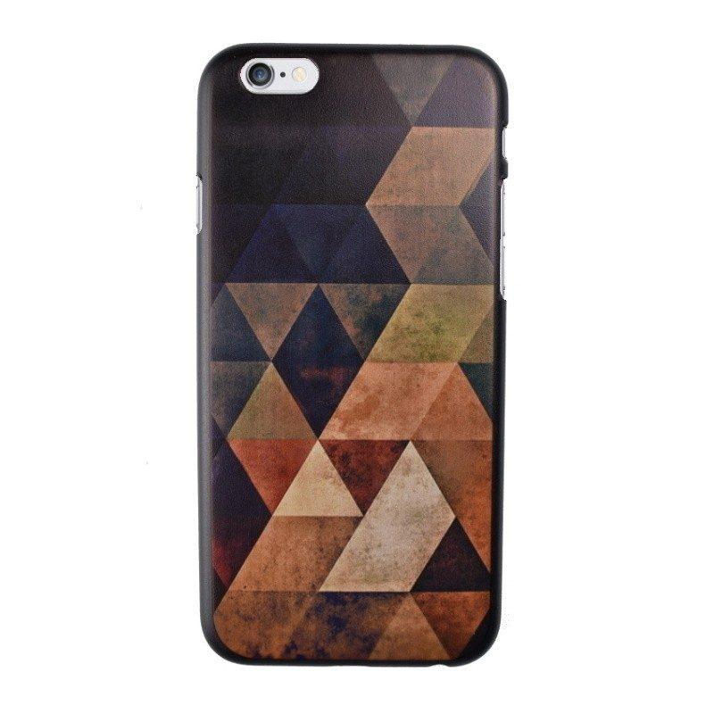 Plastový kryt pre iPhone 6/6S Dark Brown