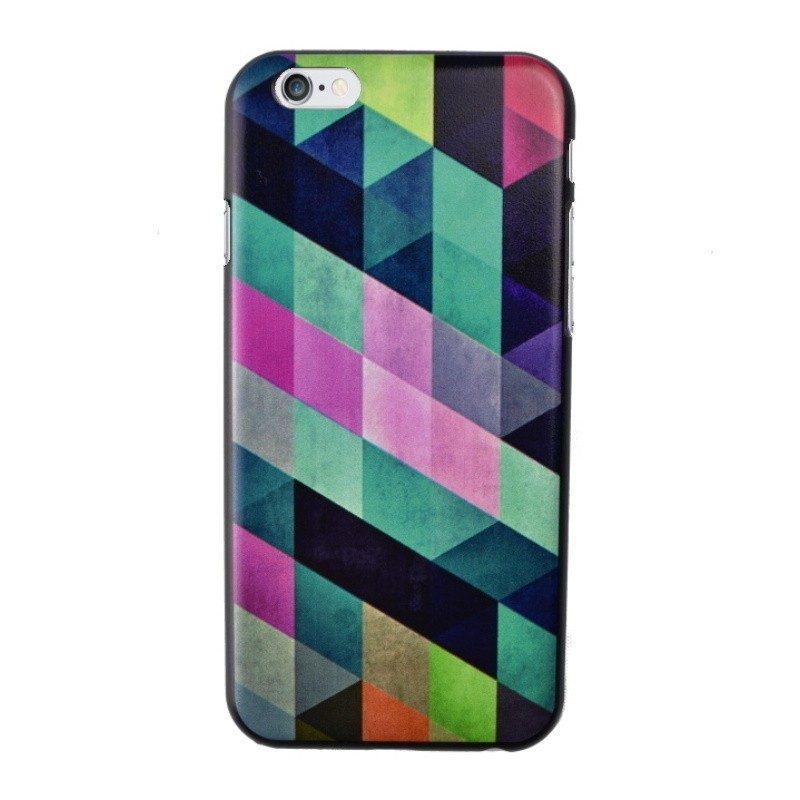 Plastový kryt pre iPhone 6/6S Green Geometric