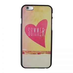 Plastový kryt pre iPhone 6/6S Summer Heart