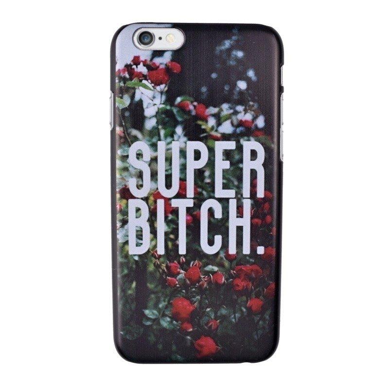 Plastový kryt pre iPhone 6/6S Super Bitch