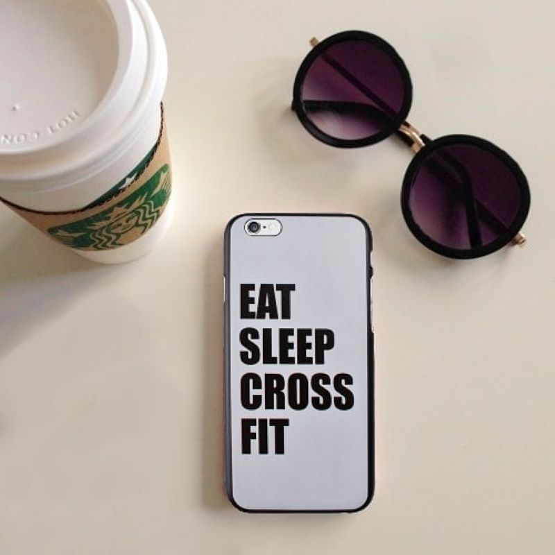 Plastový kryt na iPhone 6/6S SLEEP CROSS FIT