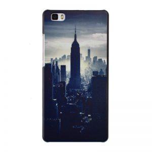 Plastový kryt pre Huawei P8 Lite BIG APPLE