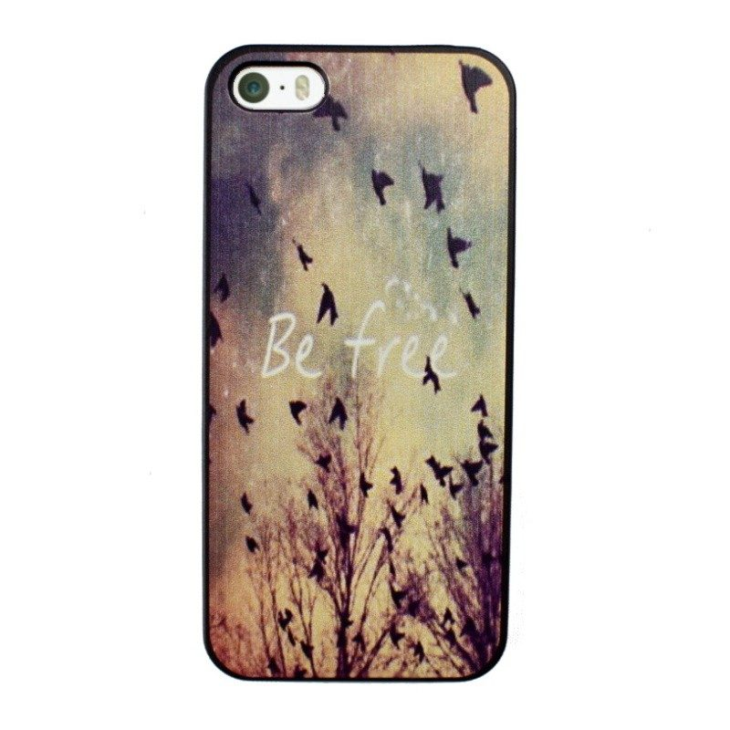 Plastový kryt pre iPhone 5/5S/SE BE FREE
