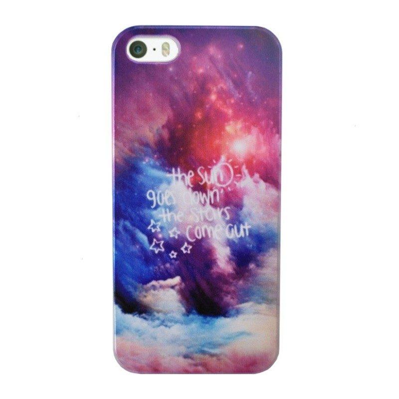 Plastový kryt pre iPhone 5/5S/SE STARS