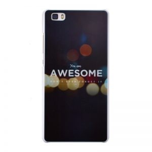 Plastový kryt pre Huawei P8 Lite AWESOME