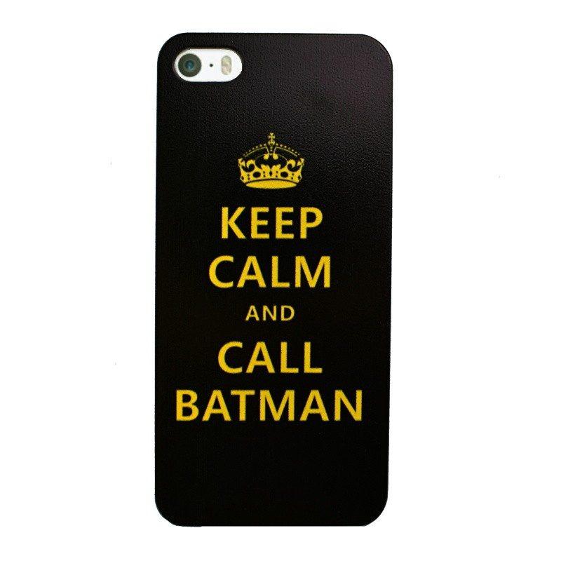 Plastový kryt pre iPhone 5/5S/SE BATMAN
