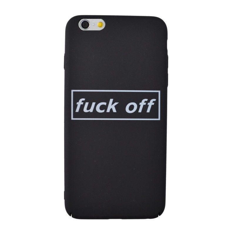 Plastový kryt pre iPhone 6/6S Plus FUCK OFF