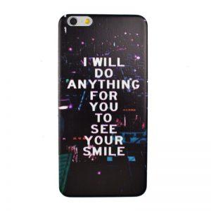 Plastový kryt pre iPhone 6/6S Plus SMILE