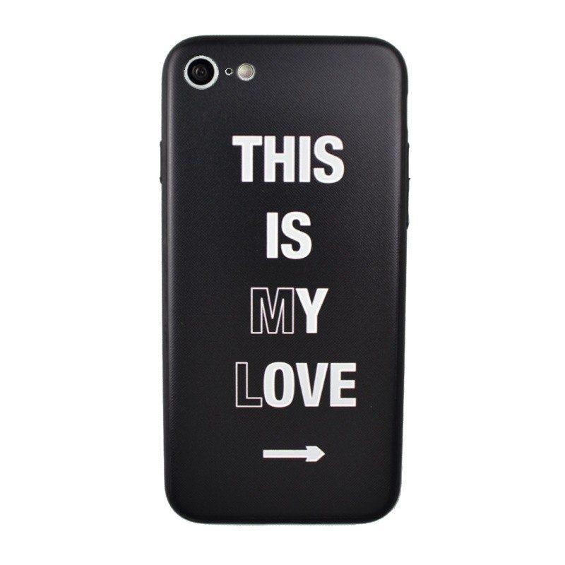 Silikónový kryt pre iPhone 7/8 LOVE