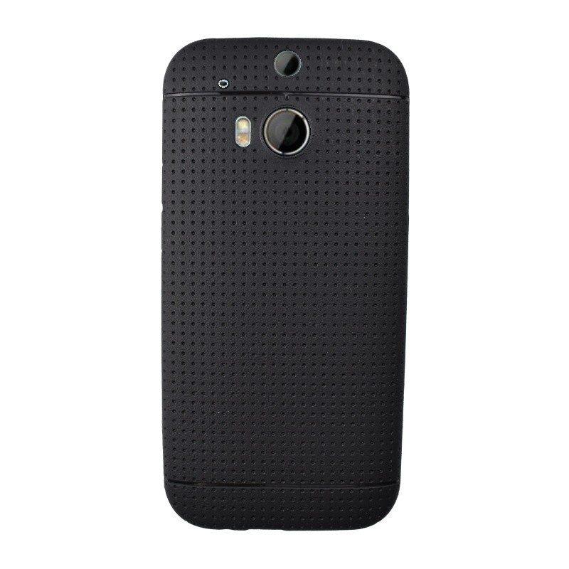 Silikónový kryt pre HTC One M8 BLACK