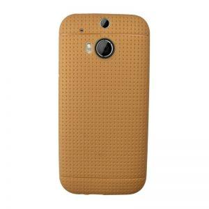Silikónový kryt pre HTC One M8 LIGHT BROWN
