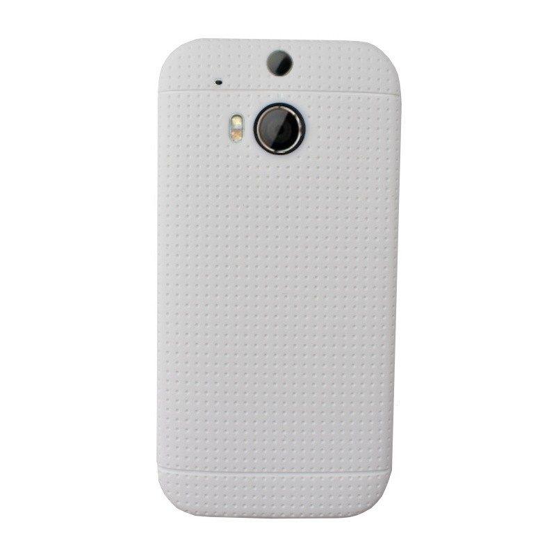 Silikónový kryt pre HTC One M8 WHITE