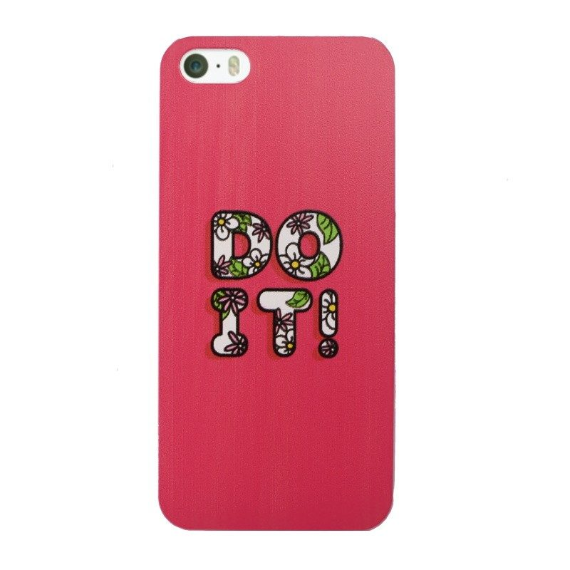 Plastový kryt pre iPhone 5/5S/SE DO IT