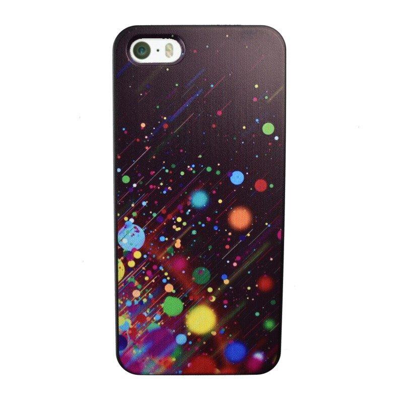 Plastový kryt pre iPhone 5/5S/SE Dots Art