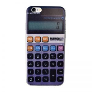 Silikónový kryt pre iPhone 6/6S CALCULATOR