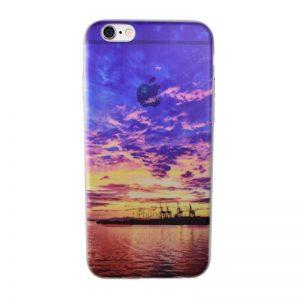 Silikónový kryt pre iPhone 6/6S NIGHT SKY