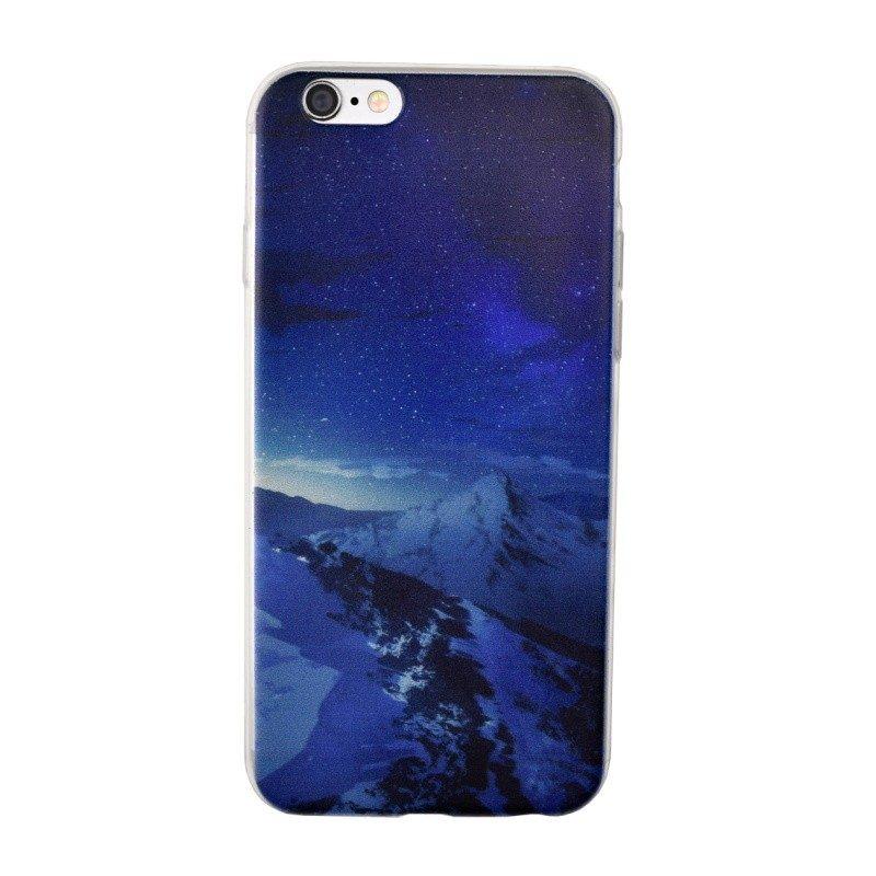 Silikónový kryt pre iPhone 6/6S MOUNTAINS