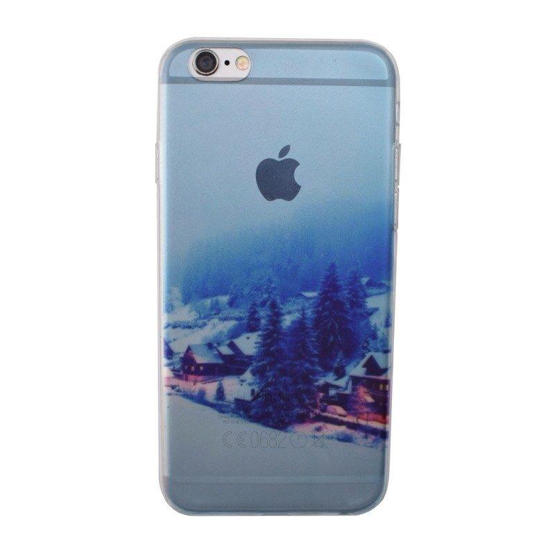 Silikónový kryt pre iPhone 6/6S WINTER