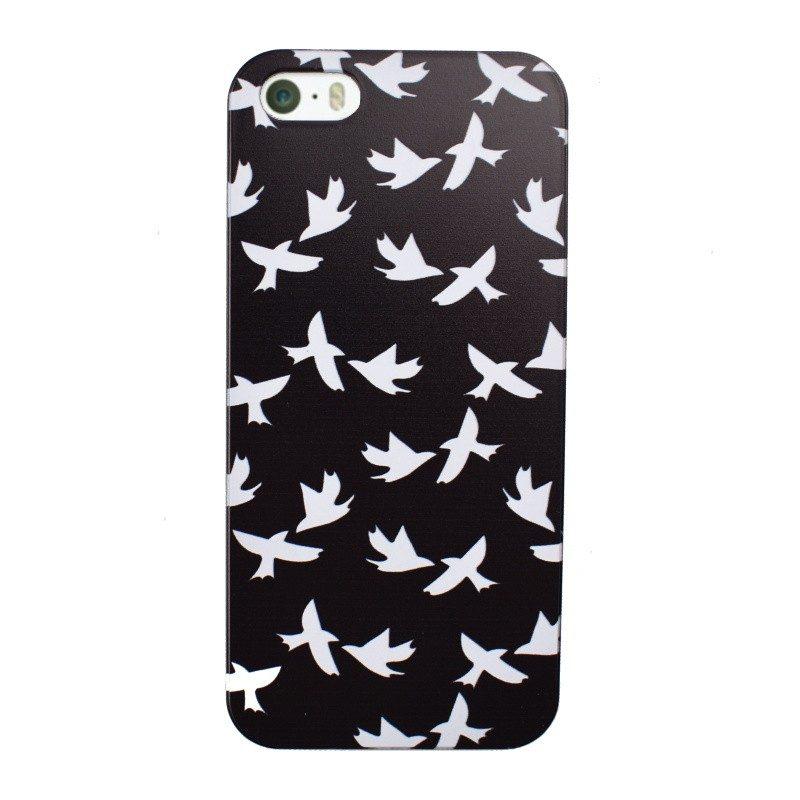 Plastový kryt pre iPhone 5/5S/SE BIRDS
