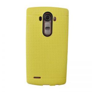 Silikónový kryt pre LG G4 YELLOW