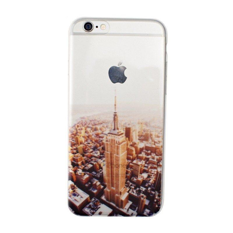 Silikónový kryt pre iPhone 6/6S NEW YORK