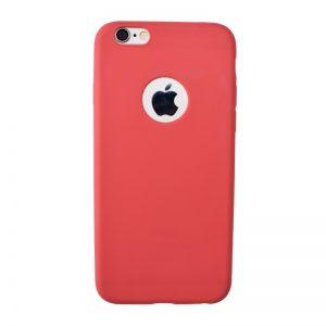 Silikónový kryt pre iPhone 6/6S RED