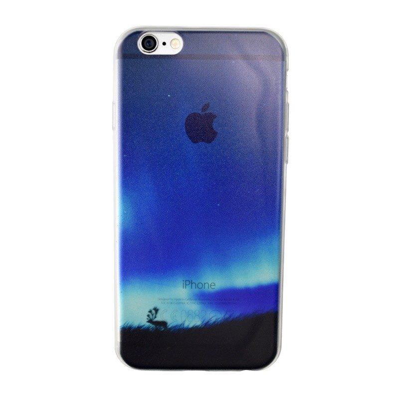 Silikónový kryt pre iPhone 6/6S NIGHT