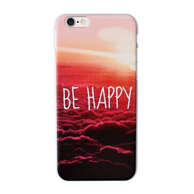Plastový kryt pre iPhone 6/6S BE HAPPY