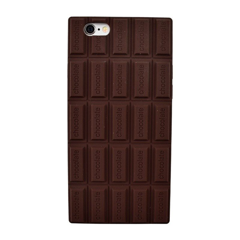 Silikónový kryt pre iPhone 6/6S CHOCOLATE