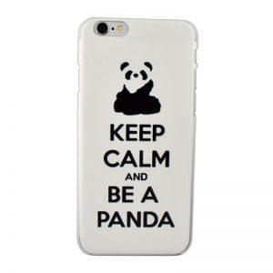 Plastový kryt pre iPhone 6/6S PANDA