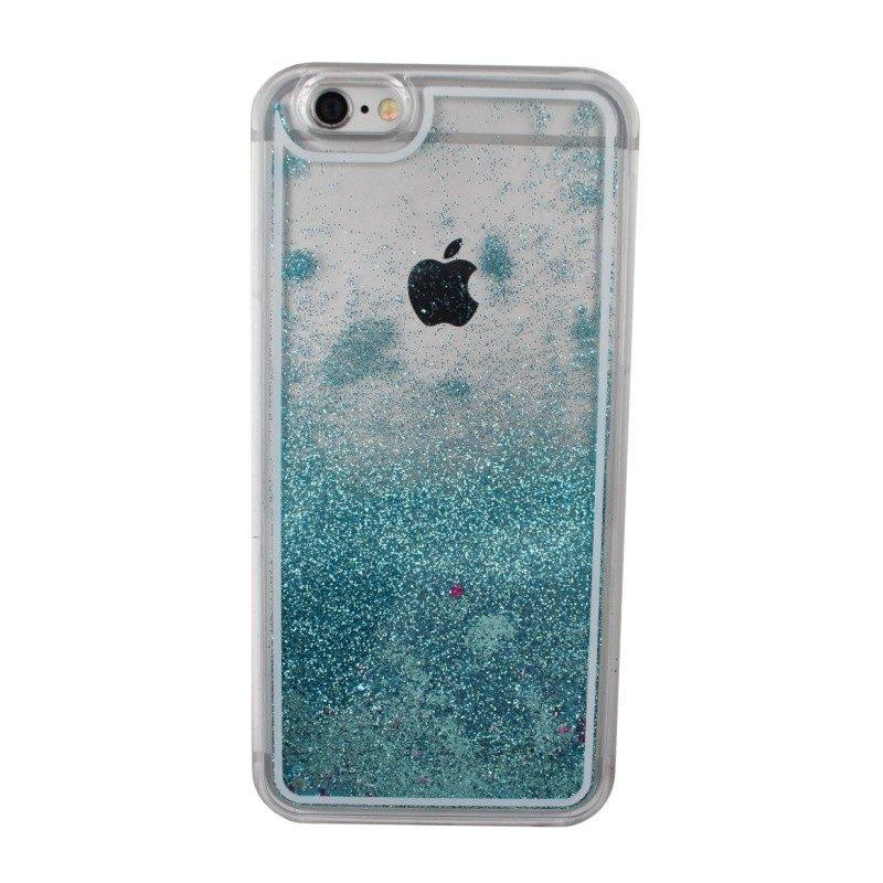Presýpací plastový kryt pre iPhone 6/6S BLUE