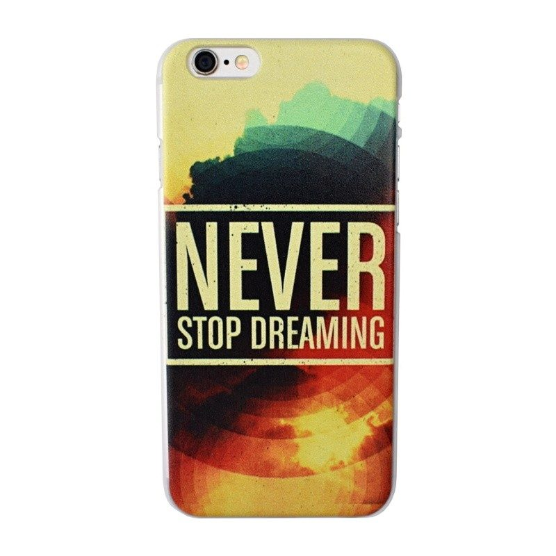 Plastový kryt pre iPhone 6/6S NEVER