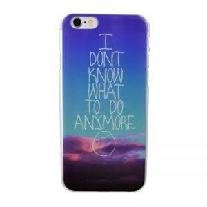 Plastový kryt pre iPhone 6/6S ANYMORE