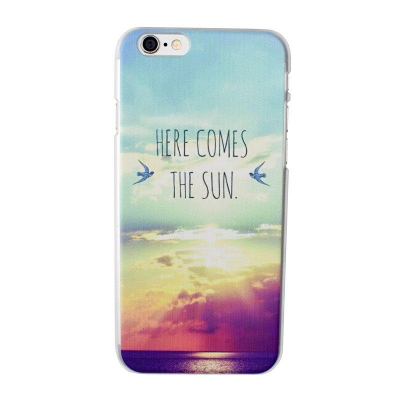 Plastový kryt pre iPhone 6/6S SUN