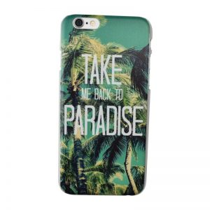Plastový kryt pre iPhone 6/6S PARADISE