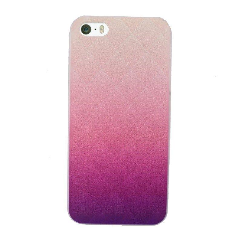 Plastový kryt pre iPhone 5/5S/SE Purple Art