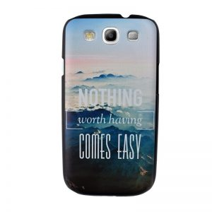 Plastový kryt pre Samsung Galaxy S3 NOTHING