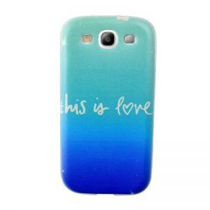 Silikónový kryt pre Samsung Galaxy S3 LOVE