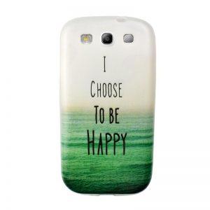 Silikónový kryt pre Samsung Galaxy S3 HAPPY