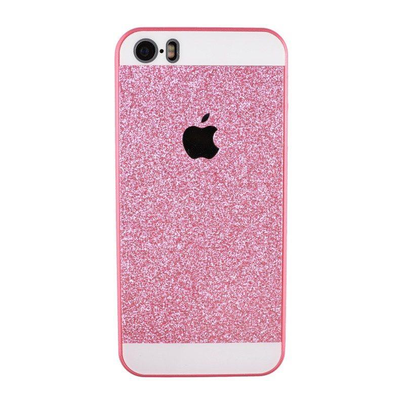 Plastový kryt pre iPhone 5/5S/SE Sparling PINK