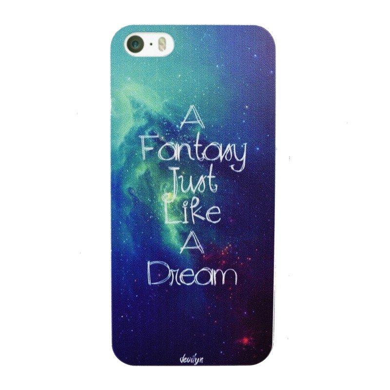 Plastový kryt pre iPhone 5/5S/SE DREAM