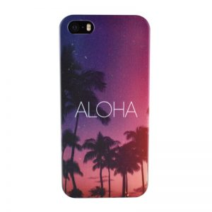 Silikónový kryt pre iPhone 5/5S/SE ALOHA