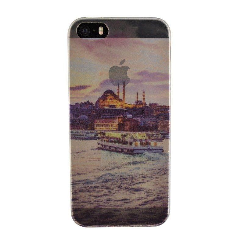 Silikónový kryt pre iPhone 5/5S/SE CITY