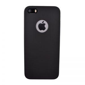 Silikónový kryt pre iPhone 5/5S/SE BLACK